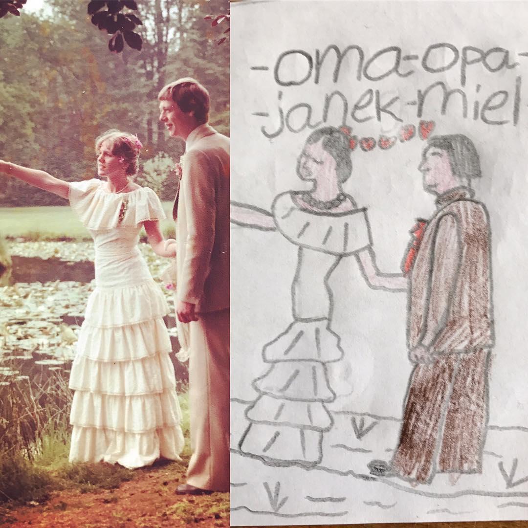Ons pap en mam zijn vandaag 40 jaar getrouwd!! ❤️ highschool sweethearts en inmiddels zeer bedreven beoefenaars van een Simple Life ❤️