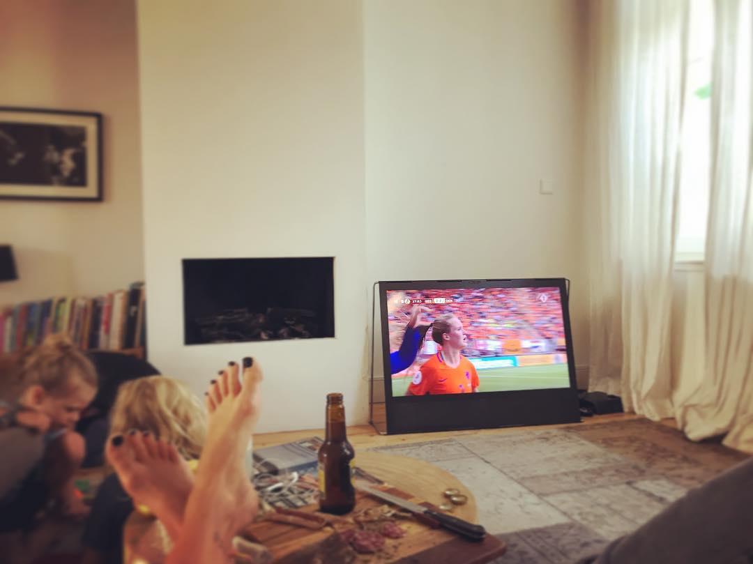 Bier, voetbal en worst! 👊🏼 #gogirls #vrouwenvoetbal #yes